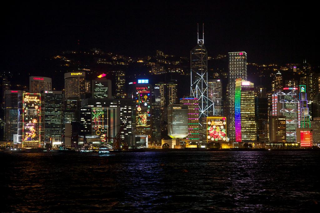 Hong Kong skyline by hanspoldoja, on Flickr