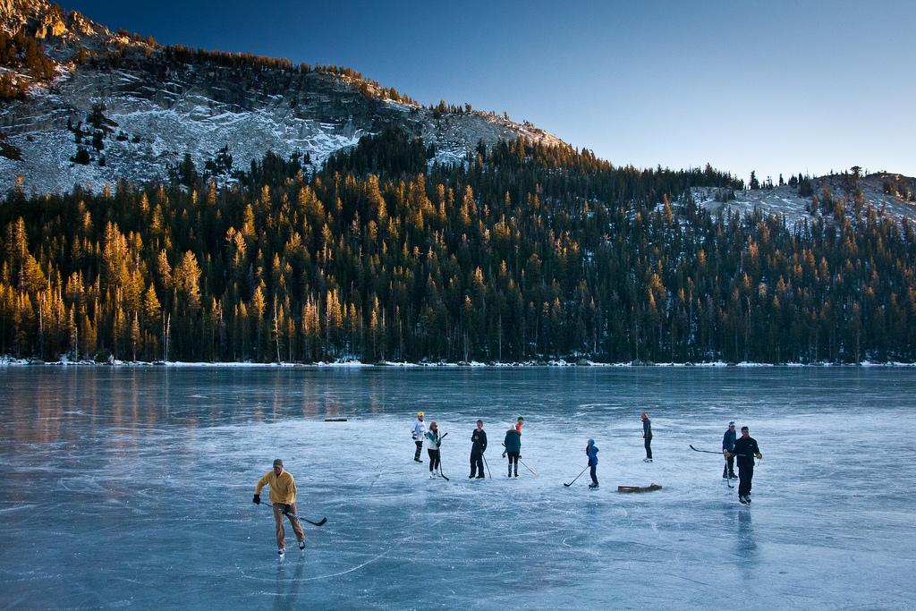 Frozen Tenaya Lake II by Jeff Pang, on Flickr