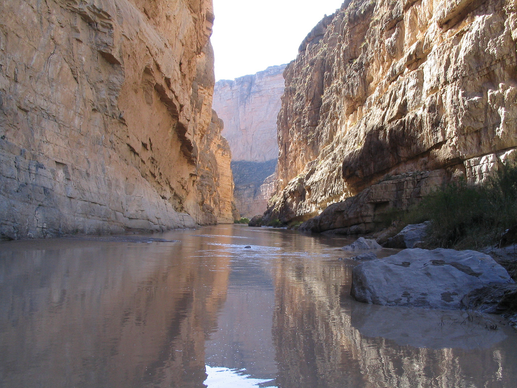Santa Elena Canyon (Left Side is United by Ken Lund, on Flickr