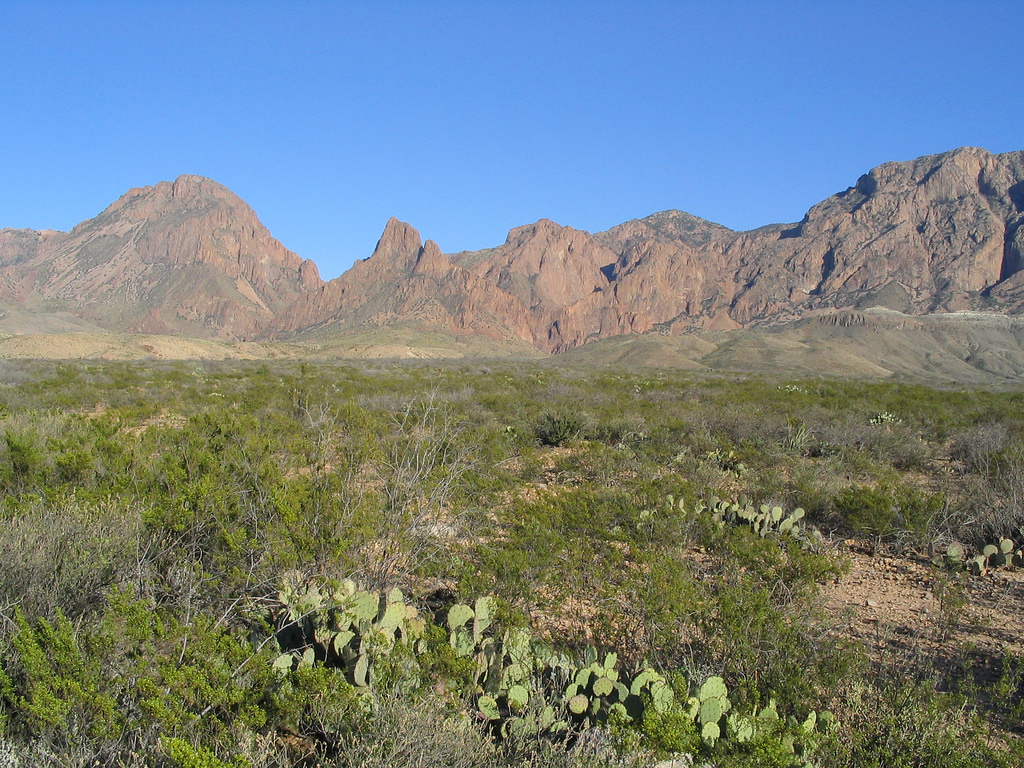 Chisos Mountains, Big Bend National Park by Ken Lund, on Flickr