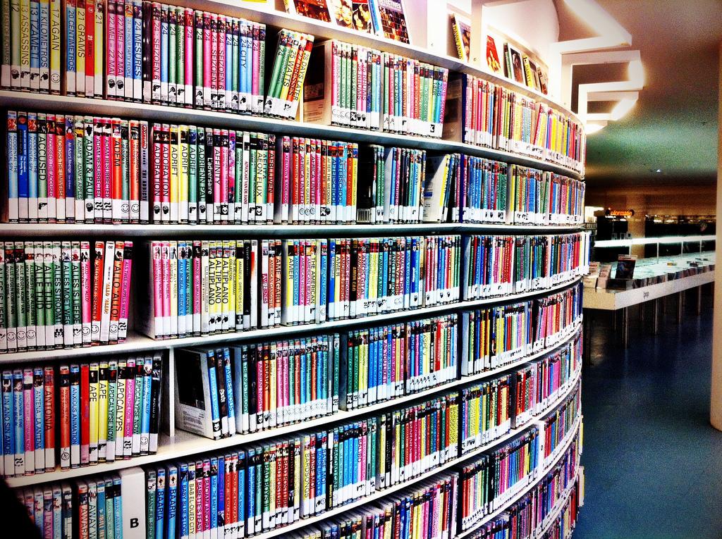 Movie library by Taras Kalapun, on Flickr