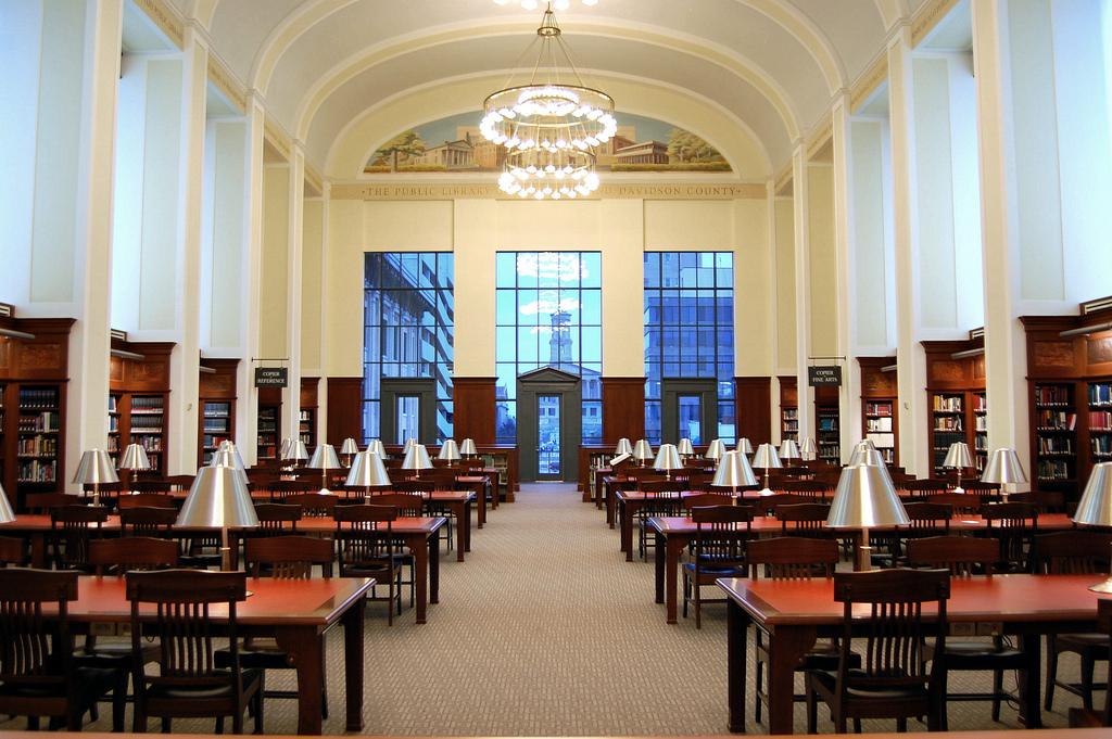 Nashville Public Library, Grand Reading by robert.claypool, on Flickr