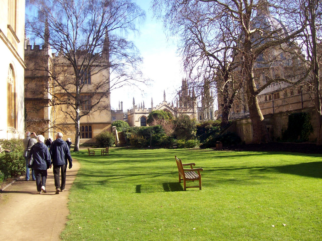 FELLOW'S GARDEN EXETER COLLEGE OXFORD by summonedbyfells, on Flickr