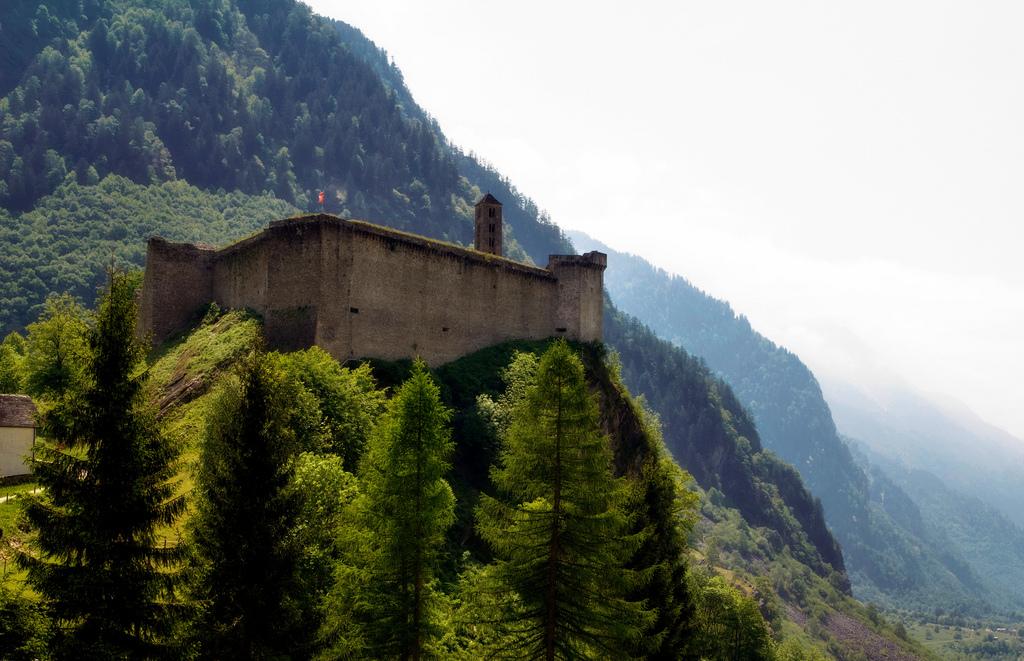 Castle in Swiss Alps by Artur Staszewski, on Flickr