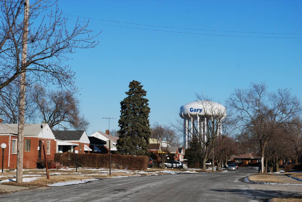 Water Tower, Gary, Indiana by Lotzman Katzman, on Flickr
