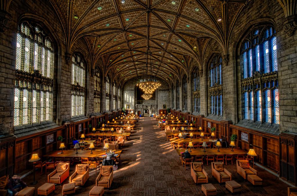 Harper Library by rseidel3, on Flickr