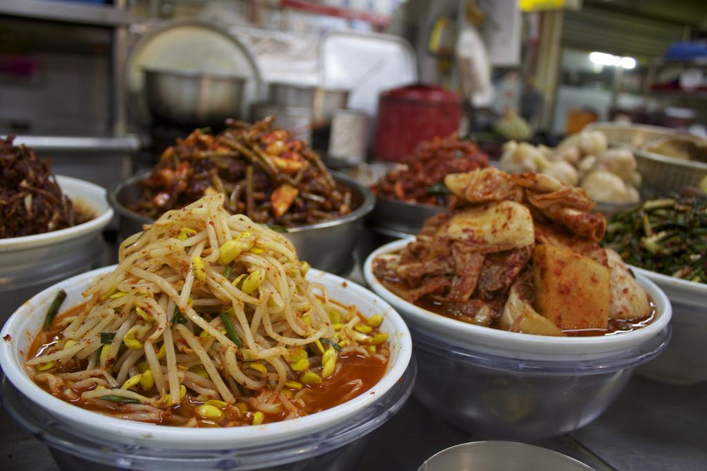 Spicy Korean grub by seafaringwoman, on Flickr