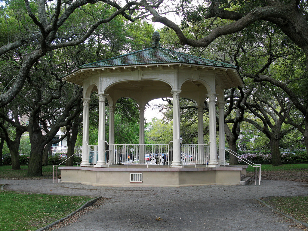 The M. F. Williams Memorial Bandstand (1 by Spencer Means, on Flickr