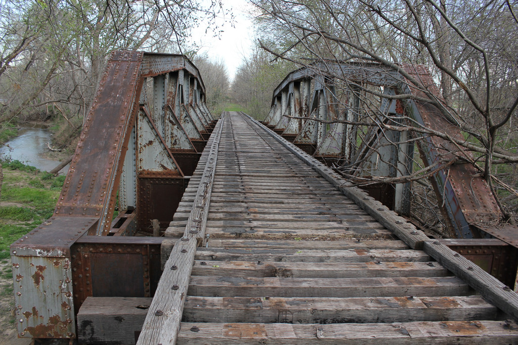 Abandoned Railroad Tracks 3, Waxahachie, by TexasExplorer98, on Flickr