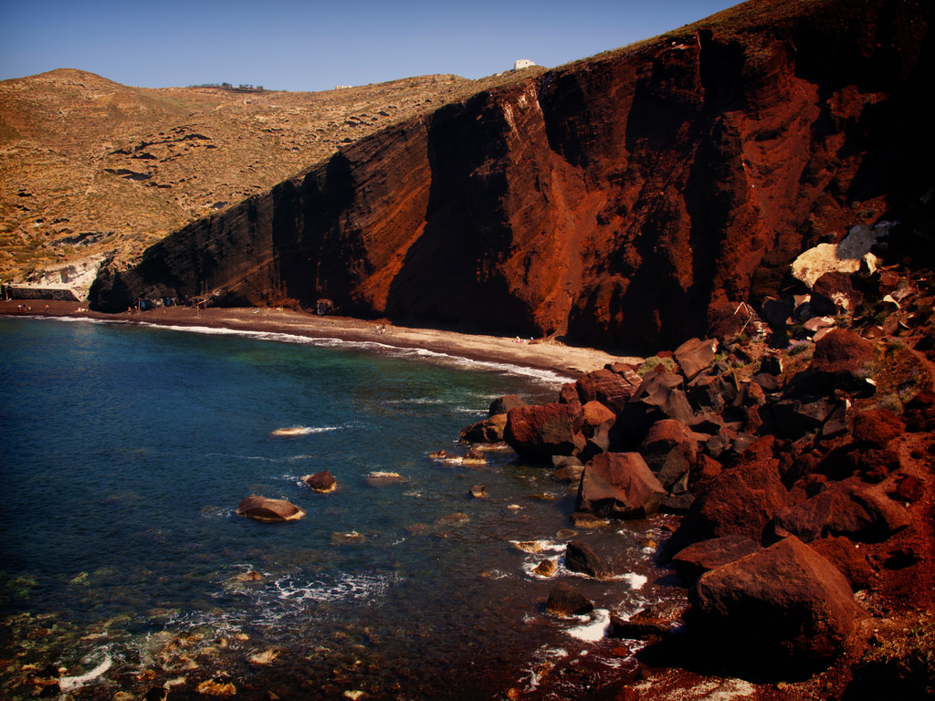 Red Beach of Santorini by kevinpoh, on Flickr