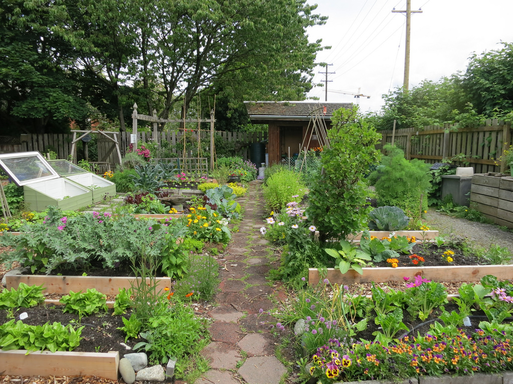 Vancouver Compost Demonstration Garden by Ruth and Dave, on Flickr