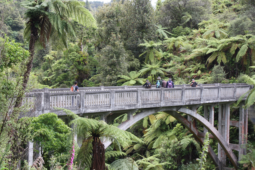 Bridge to Nowhere - Whanganui Journey by Department of Conservation, on Flickr