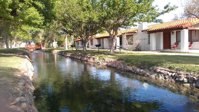 Balmorhea State Park TX cabins near spri by TheSeafarer, on Flickr