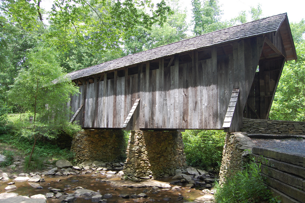 Pisgah Covered Bridge by Donald Lee Pardue, on Flickr