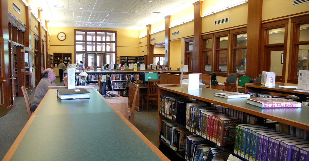 library by Muffet, on Flickr
