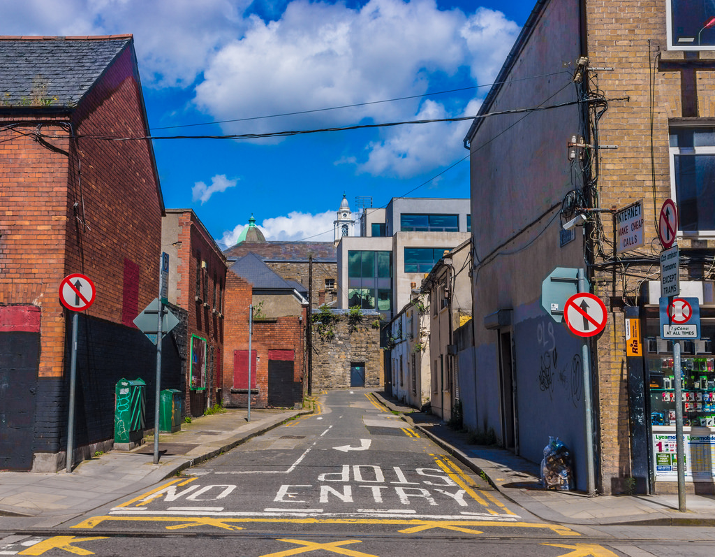 Urban Decay Along Benburb Street [Dublin by infomatique, on Flickr