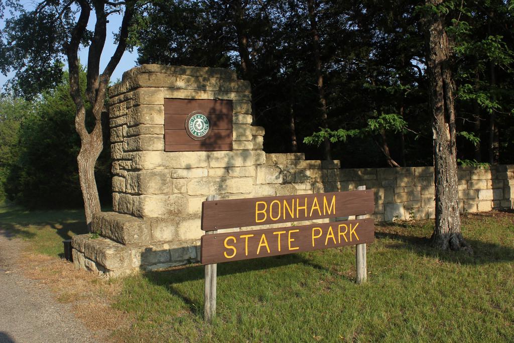 Bonham State Park Entrance, Bonham, Texa by TexasExplorer98, on Flickr