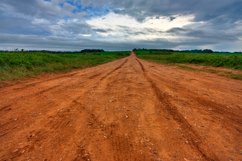 PEI Country Road - HDR by freestock.ca ♡ dare to share beauty, on Flickr