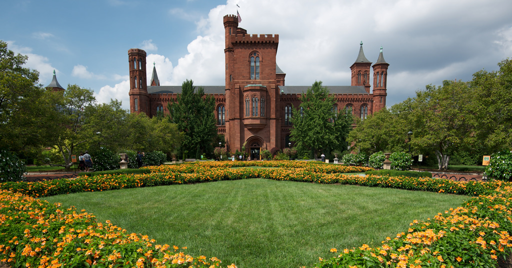 Smithsonian Castle & Parterre by RLBolton, on Flickr