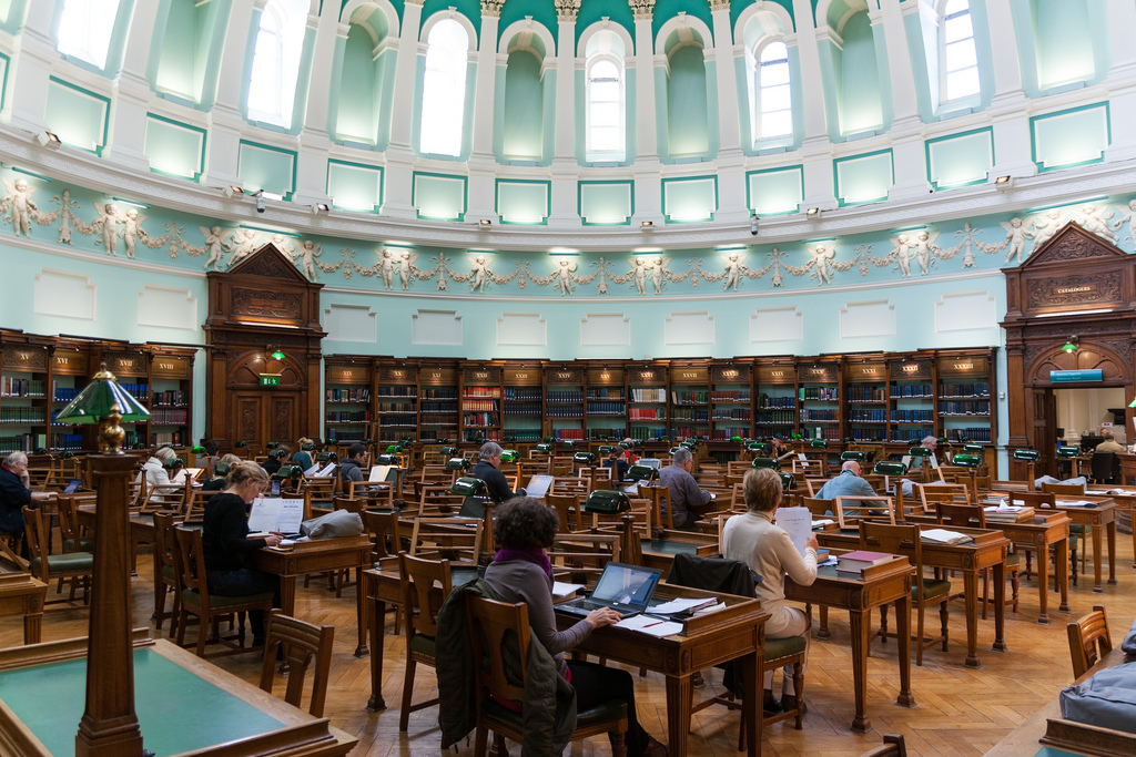 National Library of Ireland by Nico Kaiser, on Flickr