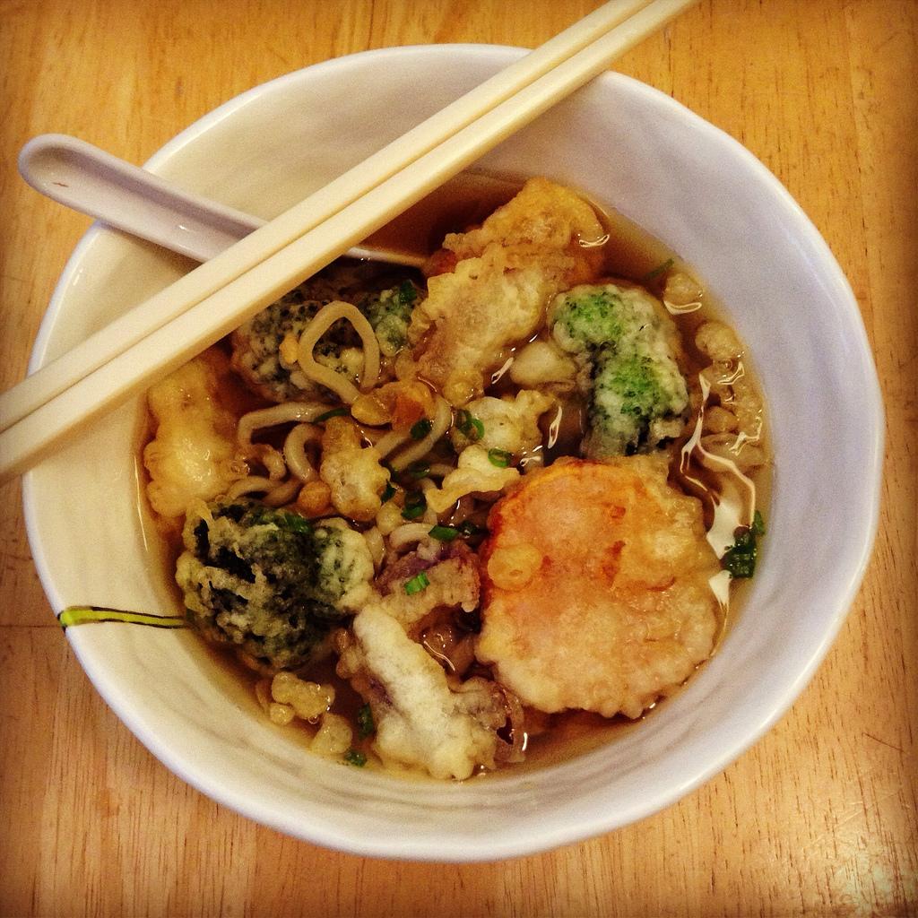 Tempura Udon Noodle Soup by joyosity, on Flickr