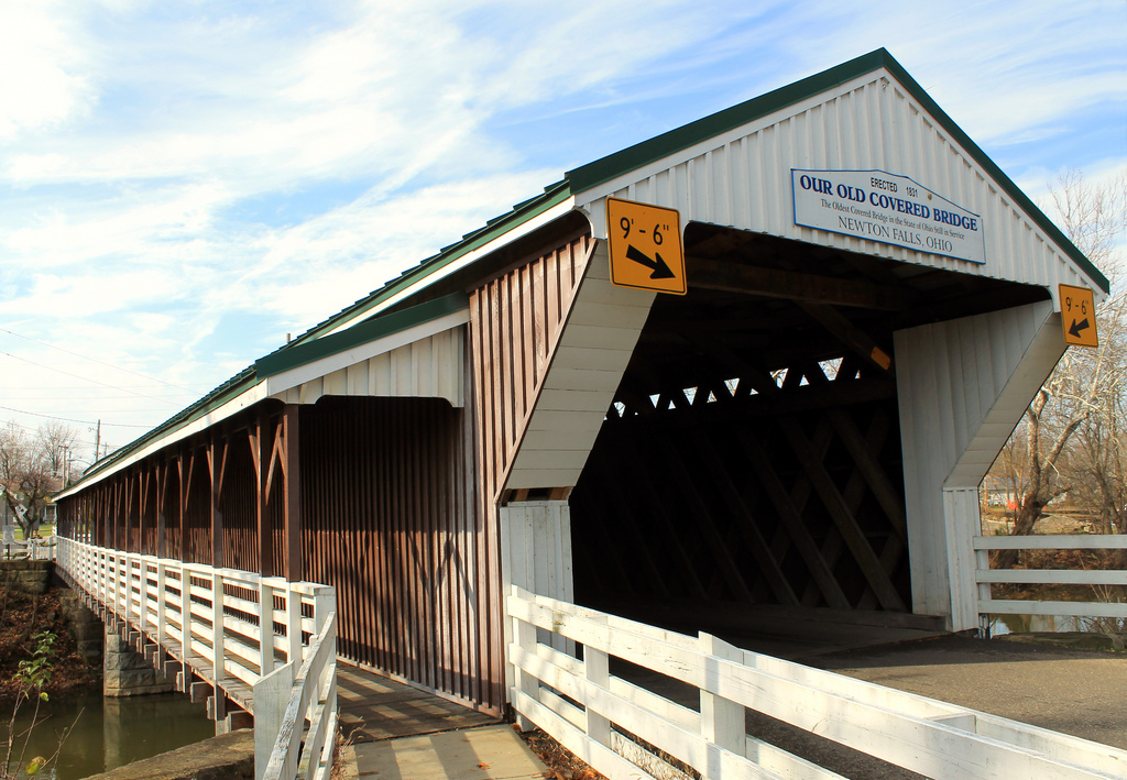 Our Old Covered Bridge by Jack W. Pearce, on Flickr