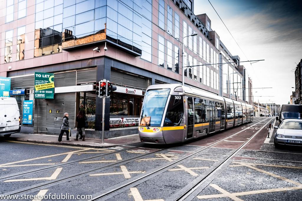 Luas Tram On Abbey Street - Dublin (Irel by infomatique, on Flickr