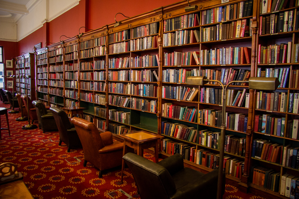 Library & Reading Room - Rand Club by andryn2006, on Flickr