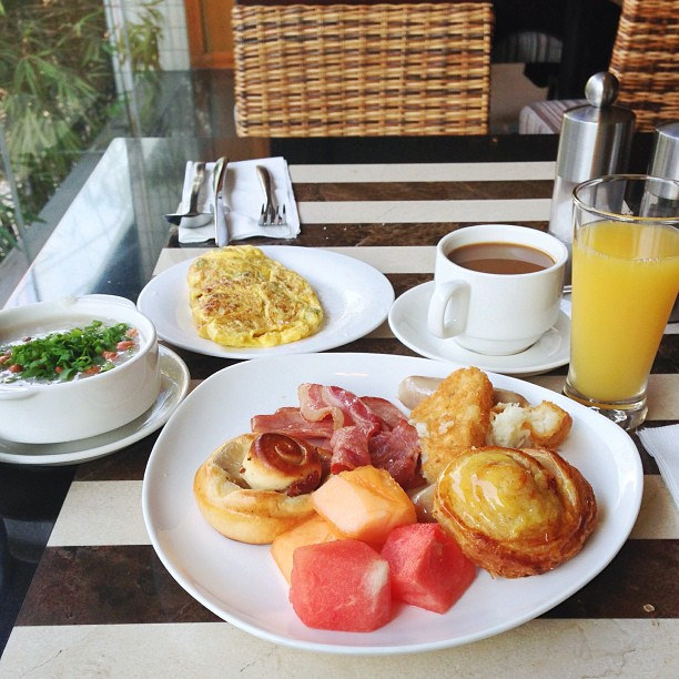 The best thing about hotel breakfast in by See-ming Lee 李思明 SML, on Flickr