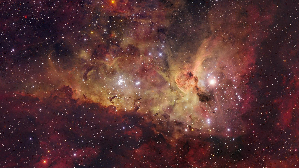 Nebula of eta Carinae mosaic by Marc Van Norden, on Flickr