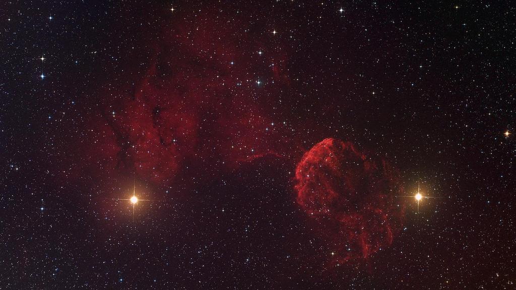 Nebula - IC443 by Marc Van Norden, on Flickr