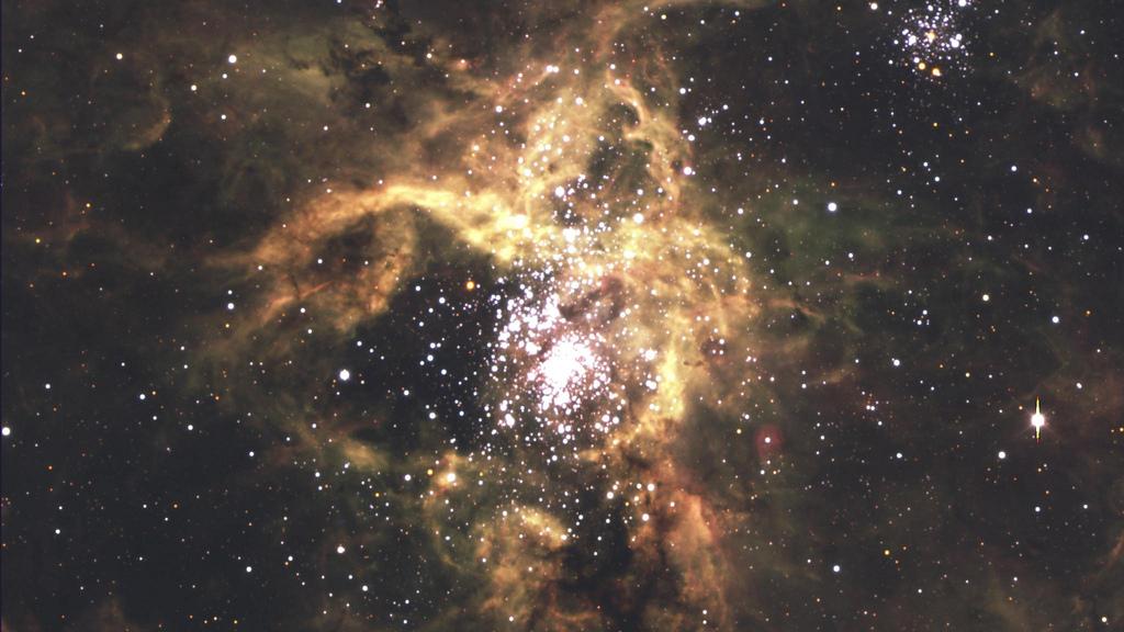 Nebula Tarantula - Wide field by Marc Van Norden, on Flickr