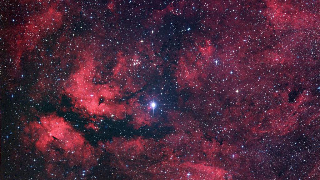Nebula around Gamma Cygni by Marc Van Norden, on Flickr