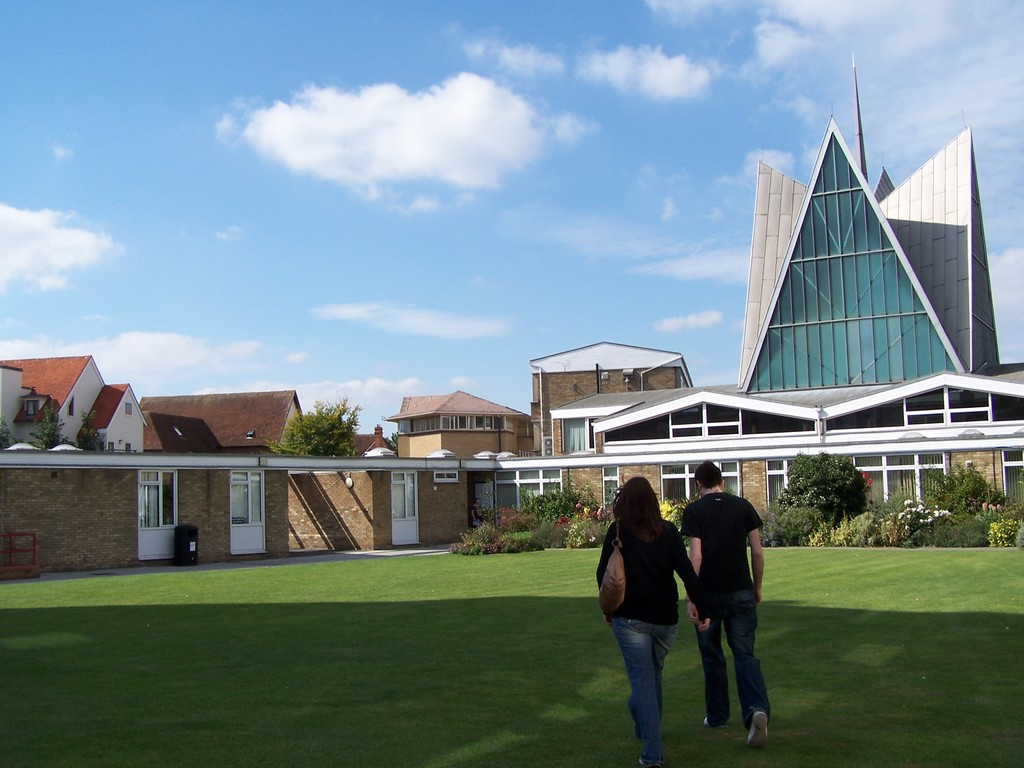 Canterbury Christ Church University camp by Zoltan Gaal, on Flickr