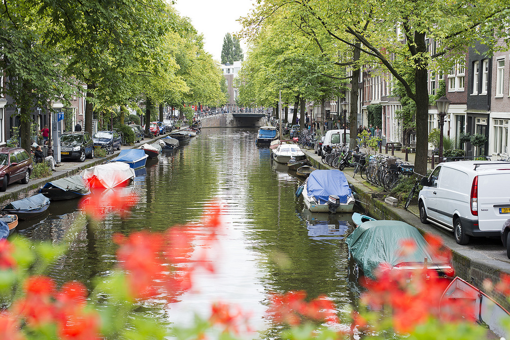 Amsterdam Canal by swampa, on Flickr