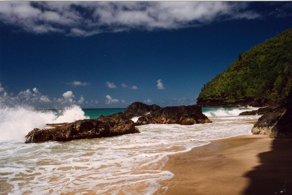Hanakapiai Beach, Na Pali Coast, Kauai, by Jeff Kubina, on Flickr
