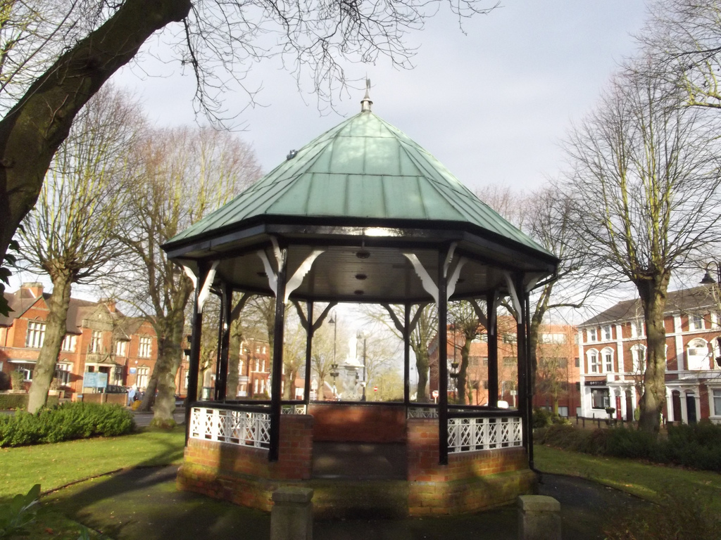 Church Green, Redditch - bandstand by ell brown, on Flickr