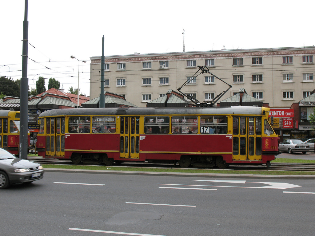 Konstal 13N tram in Warszawa by photobeppus, on Flickr