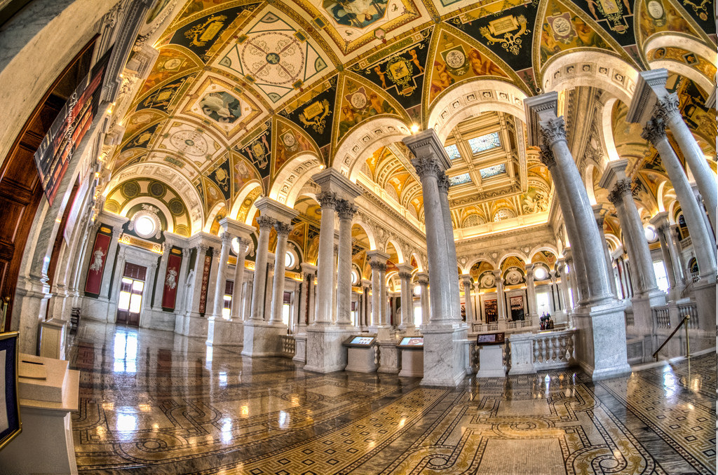 Library of Congress - handheld 3 exposur by m01229, on Flickr