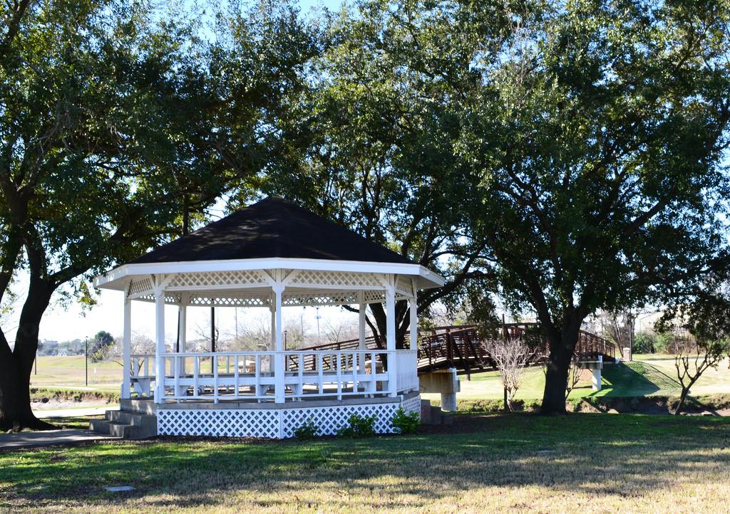 Gazebo, Memorial Park, Pasadena, Texas 1 by Patrick Feller, on Flickr