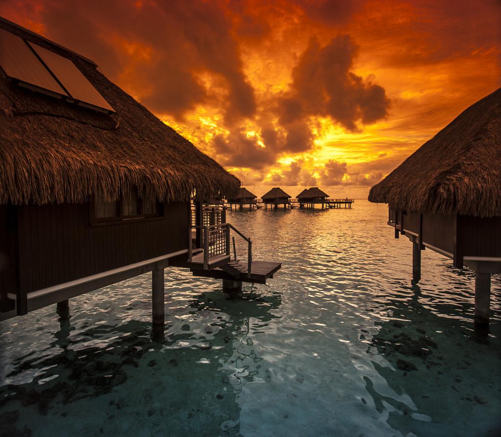 Hilton Moorea, Tahiti by Tim Moffatt, on Flickr