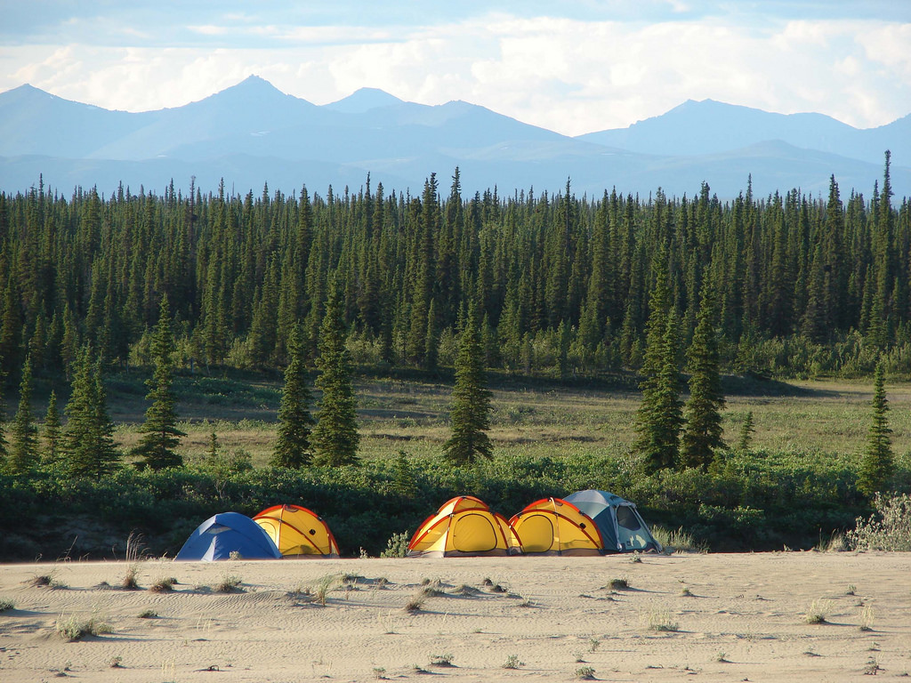 Camping on the Sand Dunes by Western Arctic National Parklands, on Flickr