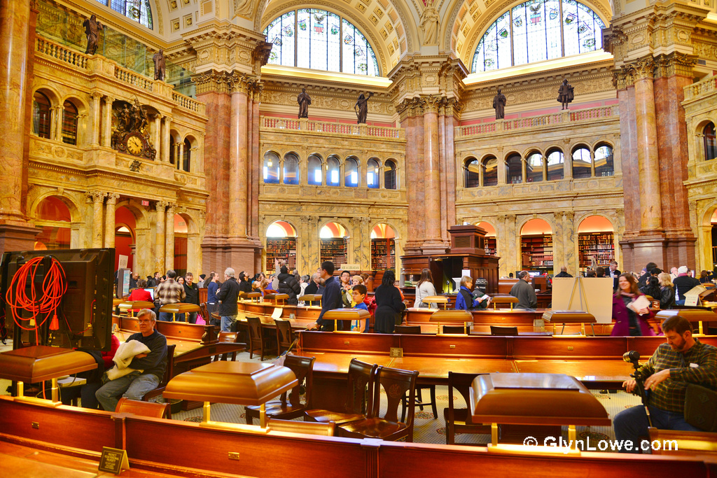 The Library of Congress - Reading Room by Glyn Lowe Photoworks., on Flickr