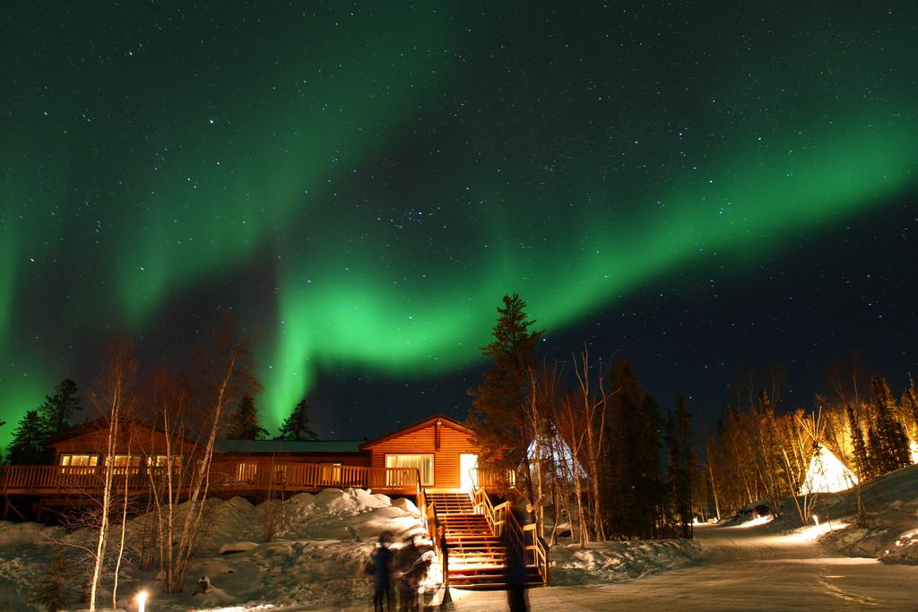 Northern Light @ Aurora Village, Yellowk by GoToVan, on Flickr