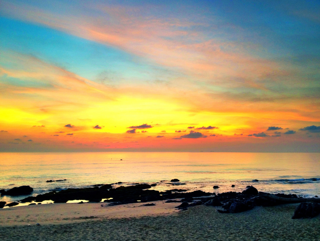 Sunrise at Desaru by ArtistIvanChew, on Flickr
