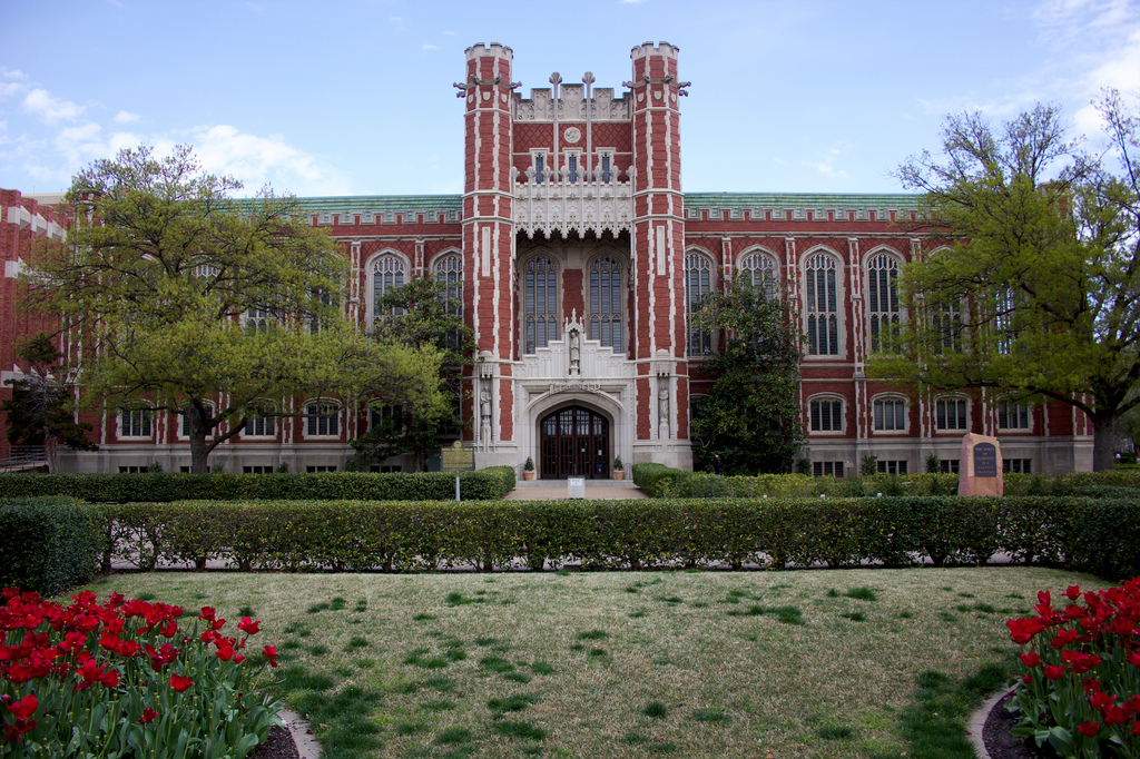 Bizzell Memorial Library original buildi by ragesoss, on Flickr