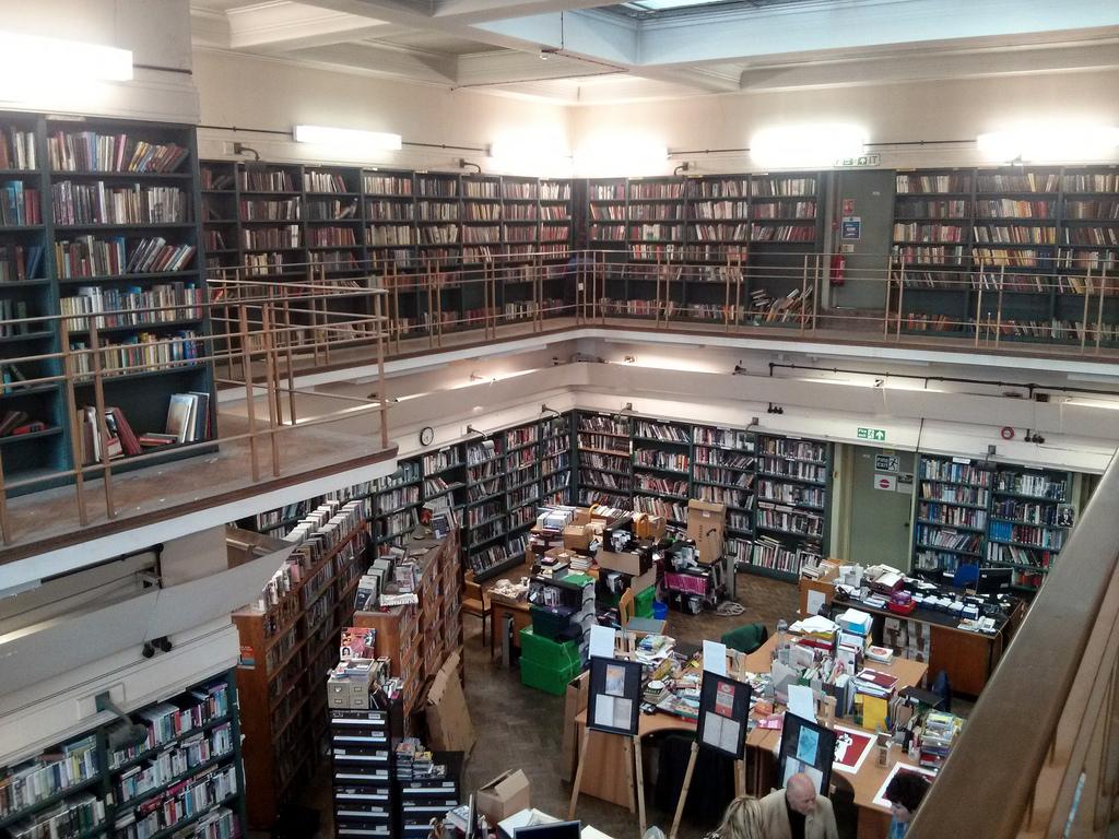 Catwalk, Stoke Newington Library, Stoke by gruntzooki, on Flickr