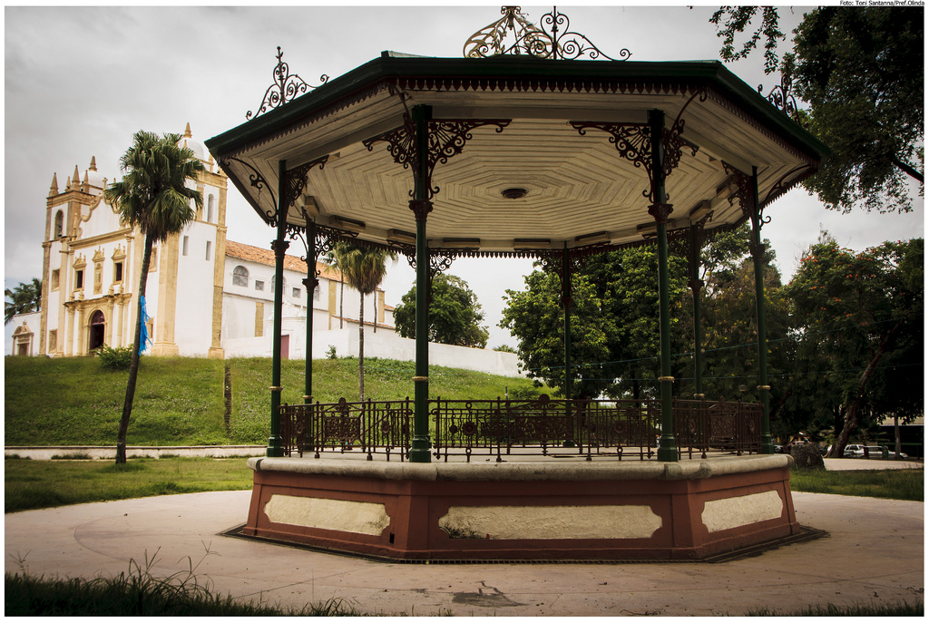 Coreto da Praça do Carmo by Prefeitura de Olinda, on Flickr