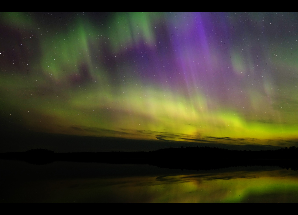 Aurora Borealis ~ Canada by Dusty J, on Flickr