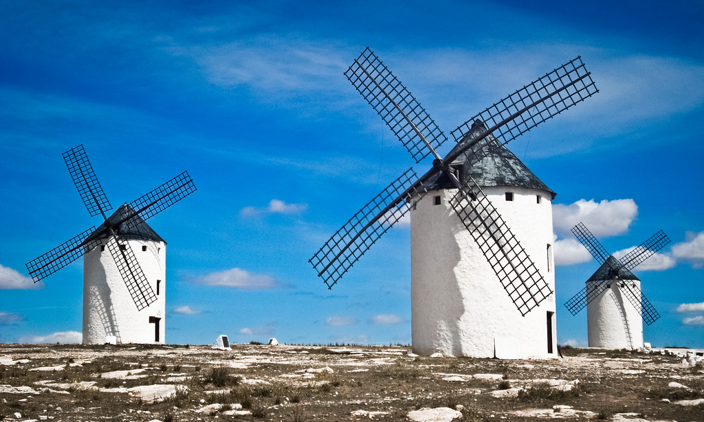 Los molinos del Quijote by mariagraziamontagnari.net, on Flickr